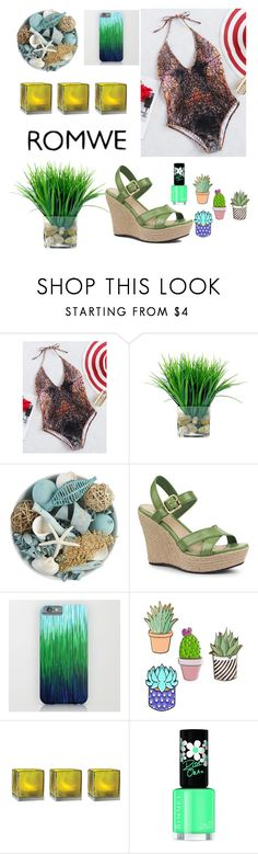 """""""summer here we come!!"""" by mivak356 ❤ liked on Polyvore featuring Pier 1 Imports, UGG, Cultural Intrigue and Rimmel"""