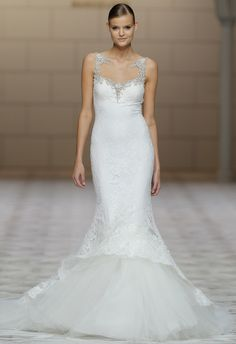 Pronovias's Spring 2015 Wedding Dresses | Blog.theknot.com