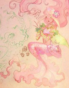 Flora mermaid by AxelStardust on DeviantArt