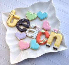 Teacher Cookies | Madri's Cookie Kitchen
