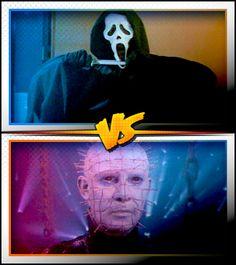 GHOSTFACE versus PINHEAD ■ http://terror.ca/movies/franchise/rank?f=262&f2=261