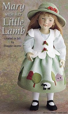 Mary with her Little Lamb