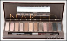 NAKED PALETTE by Urban decay- $50   pricey! but heard such good reviews about it!