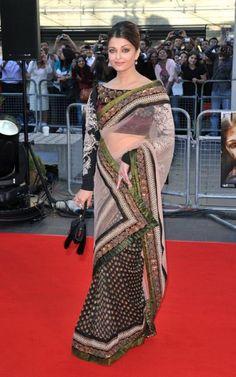Aishwarya Rai in a very pretty saree