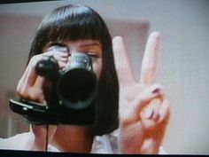Mia Wallace - Pulp Fiction My home girl. Uma Thurman, Night Aesthetic, Film Aesthetic, Film Pulp Fiction, Art Pulp, Quentin Tarantino Films, Mia Wallace, Estilo Rock, Robert Mcginnis