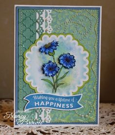 Inspired By Stamps: FSS Cornflowers