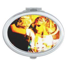 superb compact mirror Olvera Street USA 米国 日本