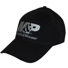 6c9bdf19 M&P by SMITH & WESSON BLACK TRADEMARK LOGO Twill HAT CAP BRAND NEW