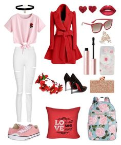 Designer Clothes, Shoes & Bags for Women Sophia Webster, Too Faced Cosmetics, Aphrodite, Betsey Johnson, Loom, Ted Baker, Polyvore Fashion, Diys, Christian Louboutin