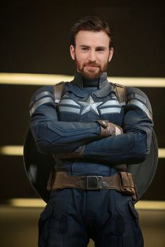 Chris Evans as Captain America - I can't even!