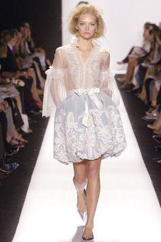Oscar de la Renta Spring 2007 Ready-to-Wear Fashion Show - Cecilia Mendez