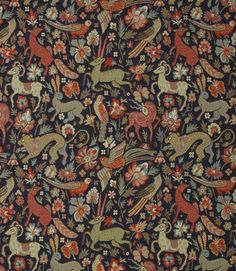 Save on our Black JF Tapestry Traditional Fabric. This Regular fabric is perfect for Curtains, Blinds & Upholstery. Save on our Black JF Tapestry Traditional Fabric. This Regular fabric is perfect for Curtains, Blinds & Upholstery. Navy Fabric, Ikat Fabric, Curtain Fabric, Traditional Fabric, Medieval Tapestry, Medieval Art, Medieval Music, Animaux, Middle Ages