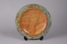 Rimu wood platter, 280 mm, by Terry Scott