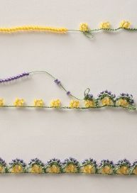 Crochet Beaded Bracelets, Bead Crochet, Crochet Motif, Crochet Flowers, Crochet Lace, Crochet Patterns, Seed Bead Patterns, Jewelry Patterns, Crotchet Stitches