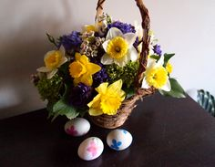 Easter basket by Sarah von Pollaro - step by step instructions