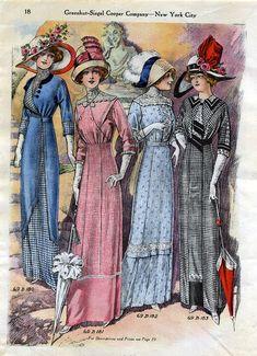 ladies fashions 1912