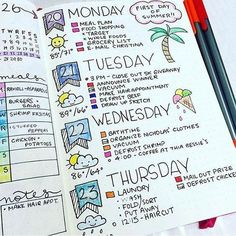 ​In the last week of having my bullet journal, I've been more aware, organized, and mindful.