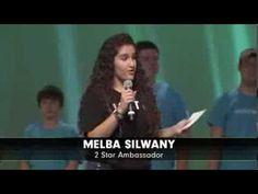 Teen Melba Silwany Shares her Transformation Story at Vitality 2013 http://www.BodybyViShape.com #bodybyvi