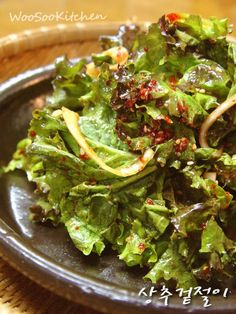 상추한봉이면~올여름 최고 비빔밥이 뚝딱! 상추겉절이 – 레시피 | 다음 요리