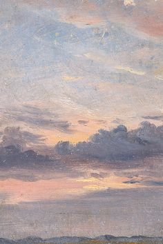 A Cloud Study, Sunset by John Constable, c. 1821 (detail)