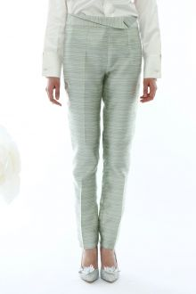 MISSPEONY Ruched Striped Pants