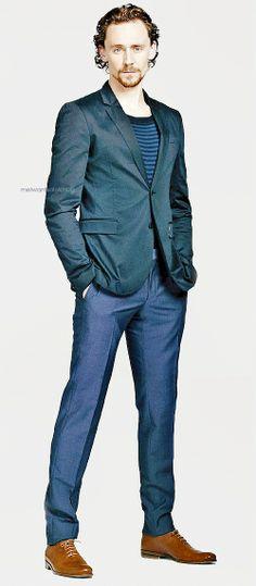Tom - those legs go on for ever............