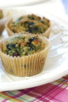 Blueberry Muffins via DeliciouslyOrganic.net