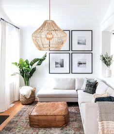 Φωτιστικό από ρατάν για όλους τους χώρους του σπιτιού.. Back To Home, Back To Reality, Ceiling Pendant, Rattan, Bamboo, Couch, Furniture, Home Decor, Wicker