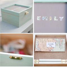 They said yes! : diy bridesmaid boxes