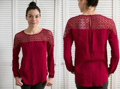 I I hope this gorgeous blouse is in my Dec box!