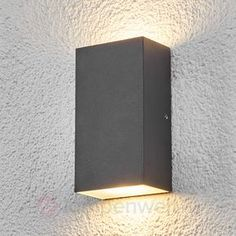 Eckige LED Außenwandleuchte Weerd Sicher U0026 Bequem Online Bestellen Bei  Lampenwelt.de.