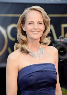 Pin for Later: 29 Sexy Stars Dish on Nudity Helen Hunt Jennifer Aniston Hair Color, Stylish Older Women, Helen Hunt, She's A Lady, Elegant Sophisticated, Celebrity Red Carpet, Celebs, Celebrities, Fashion Labels