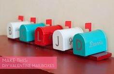 DIY Housewarming Party Decorations and Take Home Gifts (and our Menu) – Cooking with Alison Diy Valentine's Mailbox, Wedding Mailbox, Vintage Mailbox, Wedding Cards, Mailbox Ideas, Valentine Love, Be My Valentine, Valentine Ideas, Do It Yourself Wedding