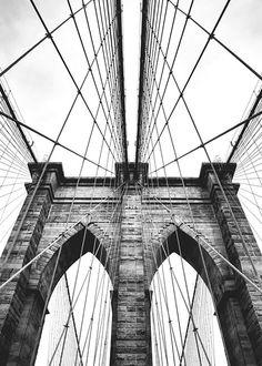 Zwart-witte fotokunst met architectuur