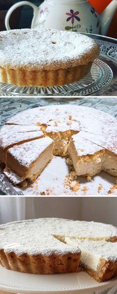Tarta de ricota receta original y muchas opciones para elegir #tartas #tartadericota #tortadericota #tartadericotta #tartaderequeson #tortadericotta #quiero #quierocakesblog Zucchini Bread Muffins, Best Zucchini Bread, Veggie Recipes, Sweet Recipes, Ricotta Torte, Pan Dulce, Sweet Pie, Pie Cake, Bakery Recipes