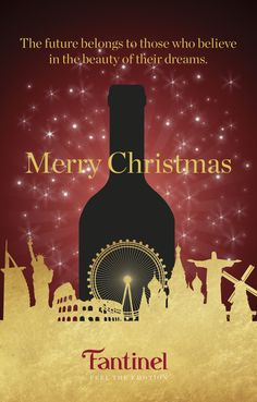 #MerryChristmas by #Fantinel Team 🎅 #wine #bubbles #celebrate #Christmas