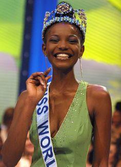 "Find Out Who Was ""Miss World"" the Year You Were Born Megan Young, Fashion Idol, Miss World, Joan Crawford, Priyanka Chopra, Personality Types, Carolina Herrera, Trinidad And Tobago, Photo Credit"