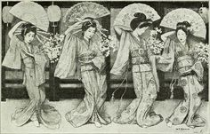 Japanese Geishas (1916) by W.T. Benda