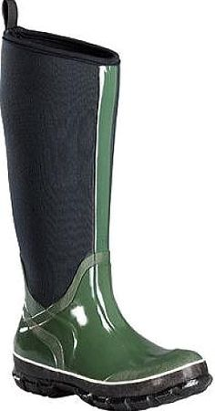 dad0b5c24c4 Baffin Women s Shoes in Green Color. The Meltwater Tall Rain Boot has a  vulcanized rubber