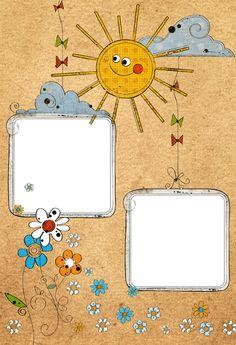 Marcos fotos infantiles para imprimir