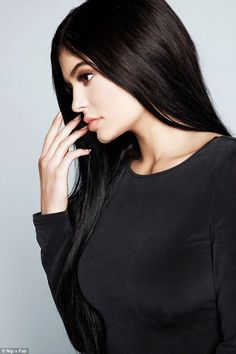 Kylie Jenner shows off her flawless complexion for Nip + Fab campaign | Daily Mail Online