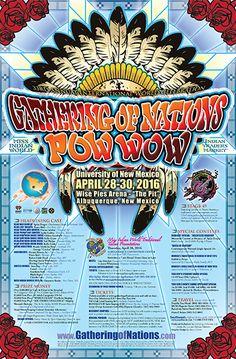Pow Wow Calendar » » 2016 Gathering of Nations Pow Wow