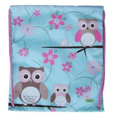 4cb2cf451c Children s Pink Blossom Owl PE Swimming Bag - Available now on Becky   Lolo  Bobble