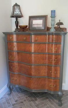 Vintage Bedroom Furniture, Antique Furniture For Sale, Painting Wooden Furniture, Refurbished Furniture, Bedroom Vintage, Repurposed Furniture, Rustic Furniture, Furniture Makeover, Home Furniture