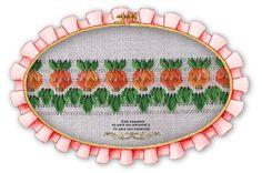 Piñas: guarda calada con cintas de seda de 3 y 5 mm