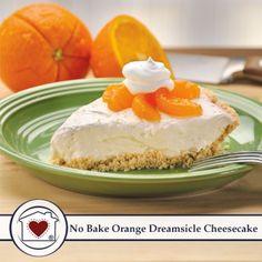 No-Bake Orange Dreamsicle Cheesecake Mix