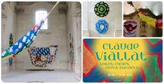 Au Musée des Beaux Arts de Nantes Kidiklik a rencontré l'artiste qui plait aux enfants Claude Viallat.