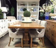 Is It Brunch Time Yet?!  It's always a pleasure to brunch when you're dining on Canalside Interiors' Artisan Parquetry Top Dining Table!  Available now in 3 sizes!  Stop into our showroom today to check out this stunner!  OPEN 7 DAYS | 38 Burrows Rd Alexandria (around the corner from #thegrounds)  www.canalside.com.au  #furniture #canalsideint #canalsideinteriors #Sydney #Alexandria @canalsideint