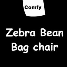 These Zebra Bean Bag chair definitely look comfy. Just Relax, Bean Bag Chair, Books To Read, Cards Against Humanity, Comfy, Bean Bags