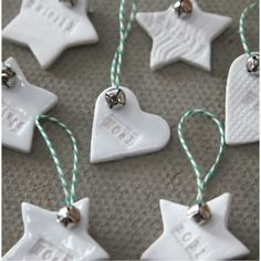 ceramic decorations would love the twinkle star and love gingerbread decoration for my christmas tree - Ceramic Christmas Decorations